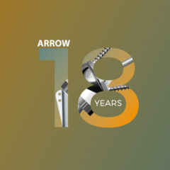 arrow shoulder prosthesis