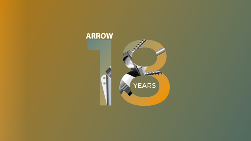 arrow shoulder prosthesis